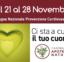 21/28 Novembre Settimana Prevenzione Cardiovascolare