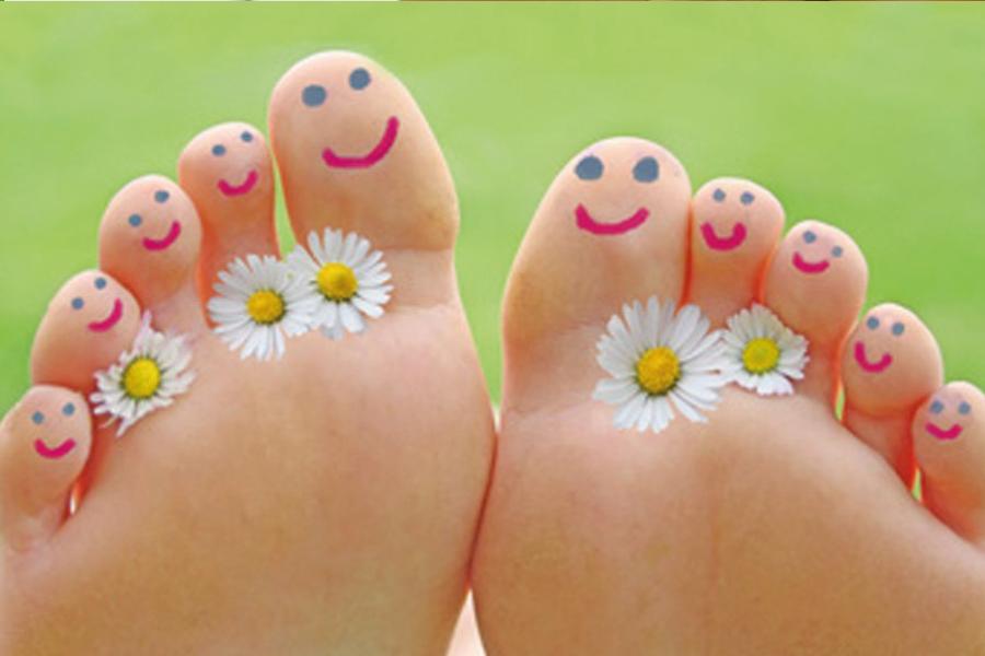 Non dimenticar… che anche i piedi hanno sete!