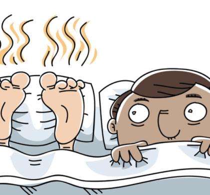 I piedi puzzoni e la bomba batteriologica.