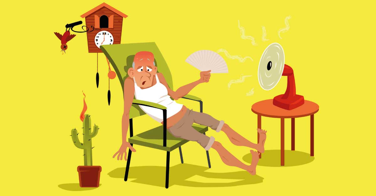 Fa caldo, la soluzione sono… i nonni!