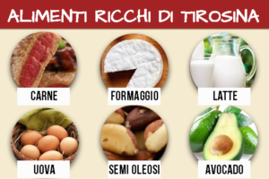 alimenti tirosina