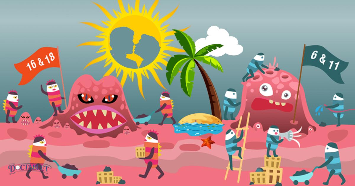 Uno spiacevole souvenir delle vacanze, l'HPV