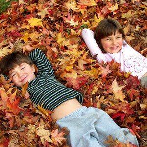 bambini-autunno