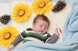 Bambino-con-influenza