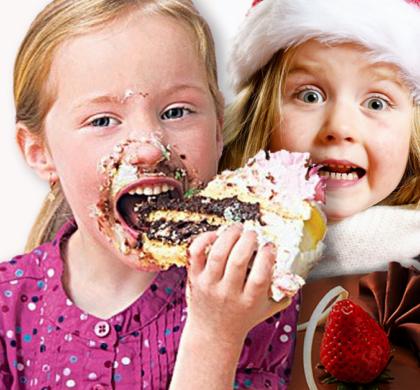 Bambini e diarrea. I doni delle feste!