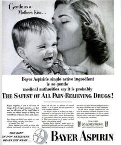 aspirina pubblicità
