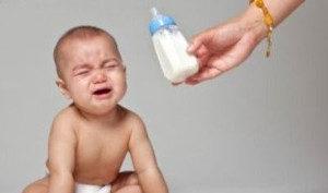 bambino disidratato