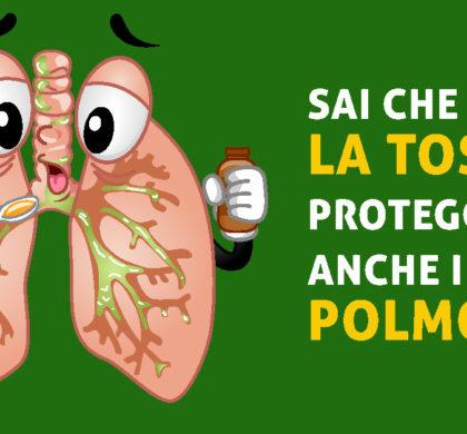La tosse è anche un importante meccanismo di difesa