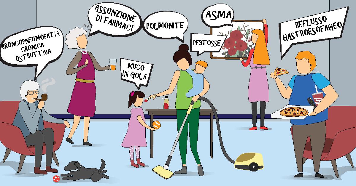 Sai che ci sono 7 differenti tipi di tosse?
