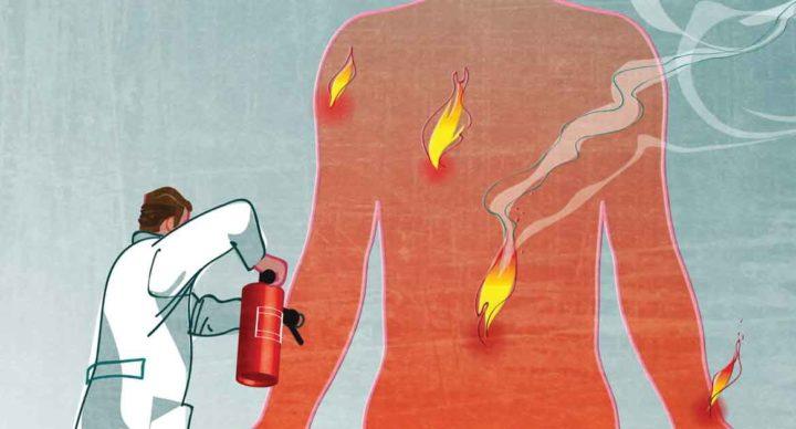 L'infiammazione, un fuoco incrociato contro le infezioni