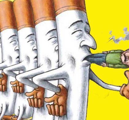 Il fumo è una dipendenza fisica, come una droga