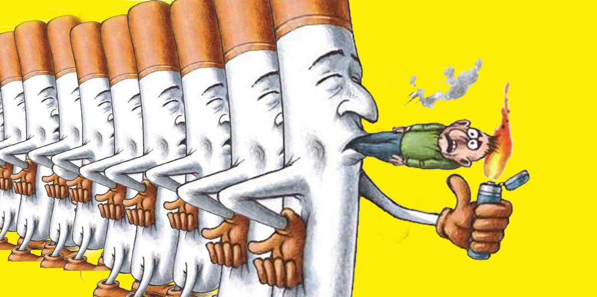 Il Fumo E Una Dipendenza Fisica Come Una Droga Farmacia Cannone