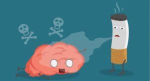 il fumo nel cervello
